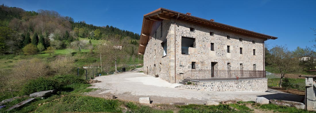 Arquitectos en navarra y pa s vasco abbark arkitektura - Caserios pais vasco ...
