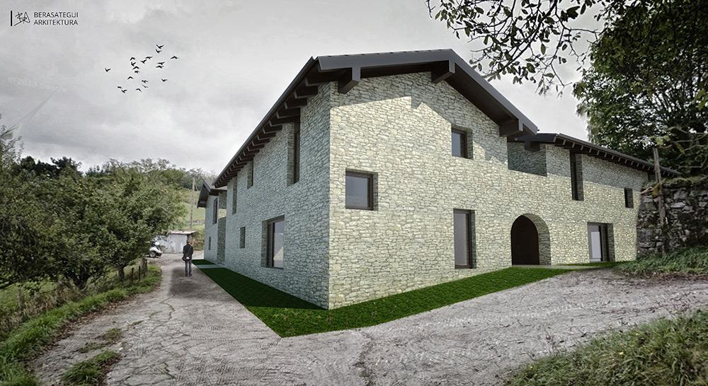 Reforma caserio igartza azpeitia abbark arkitektura02 - Arquitectos navarra ...