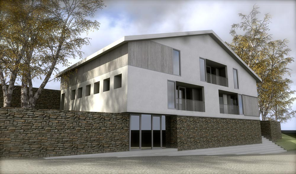Reforma caser o martitte azkoitia abbark arkitektura - Arquitectos navarra ...